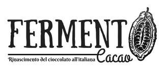 Logo fermento cacao